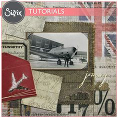 Sizzix Tutorial | Journey Layout by Jan Hobbins