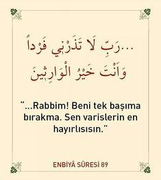 #ayet  corek-otu-yagi.com  . Duaa Islam, Allah Islam, Islam Quran, Learn Turkish Language, Quran Recitation, Islamic Quotes, Prayers, Life, Feelings