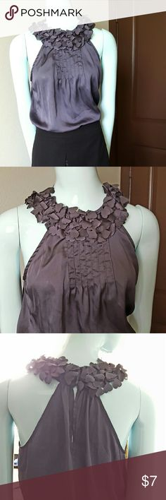 Sleeveless Grey Top Nice top for the office this summer. Can wear with skirts or slacks on Mondays or with jeans for casual Friday!!!! Tops Blouses