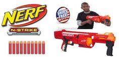 Nerf-Mega-Strike-Rotofury-N-Series-Blaster-Gun-Dart-Standard-Packaging-Rifle-Fun