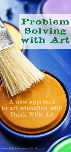 Problem Solving With Art - A new approach to art education with Think With Art. Inspire children to with art, science and engineering. via @steampoweredfam
