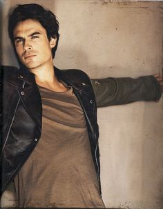 Ian Somerhalder...as Damon Salvatore from the Vampire Diaries...you can compel me anytime tehe