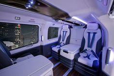 Mercedes-Benz VIP Luxury Helicopter - Mercedes Viano & Sprinter VVIP Business VAN