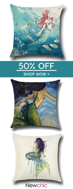 Mermaid Style Linen Pillow Case Home Fabric Sofa Mediterranean Cushion Cover. : Mermaid Style Linen Pillow Case Home Fabric Sofa Mediterranean Cushion Cover. : Mermaid Style Linen Pillow Case Home Fabric Sofa Mediterranean Cushion Cover. Mermaid Style, Mermaid Art, Linen Pillows, Cushions On Sofa, Mediterranean Cushions, Fabric Sofa, Cushion Fabric, Art Journal Backgrounds, Custom Pillow Cases