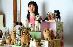 Amazingly Lifelike Midofelt Wool Felt Artwork Soothes Grieving Pet Owners ... PetsLady.com