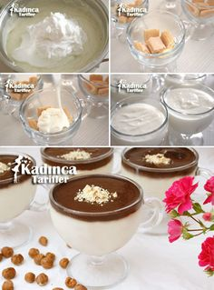 False Profiterole Recept, How-To - Food & Drink The Most Delicious Desserts – Culture Trip Köstliche Desserts, Chocolate Desserts, Delicious Desserts, Yummy Food, Profiteroles, Easy Sweets, Middle Eastern Recipes, Iftar, Turkish Recipes