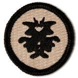 Inkblot Merit Badge: for facing your inner demons.