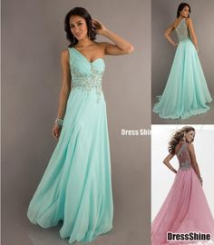 I like this - A line One Shoulder Chiffon Beading Sequins Prom Dress. Do you think I should buy it?