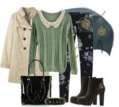 Outfits de Moda ...Me Tomo Cinco Minutos: Calzas y Leggins