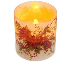 Set of 4 Flameless Votive Candles with Timer by Valerie — QVC.com
