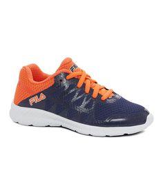 Navy & Orange Finity Running Shoe