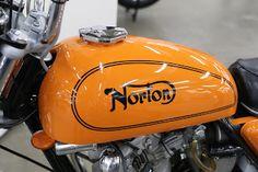 OldMotoDude: 1973 Norton 750 Commando Hi Rider on display at the 2018 Denver Motorcycle Expo