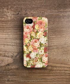 Floral iphone 4 case Floral iphone 5 case Flower iphone by TonCase, $23.99