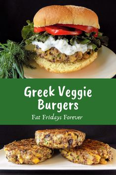 Eat these as a fully dressed burger, or on top of a salad!