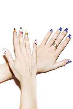 Nails for Nylon by @MPNAILS
