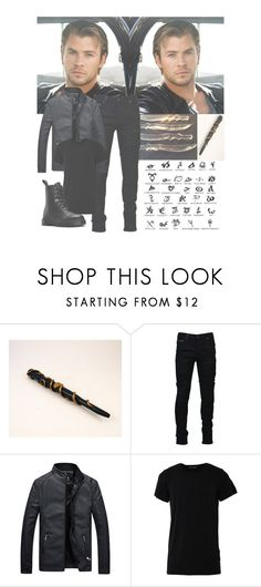 """The sky is more blue next to you..."" by beyoutiful-xoxox ❤ liked on Polyvore featuring Stele, Marcelo Burlon, Numero00, Dr. Martens, men's fashion and menswear"