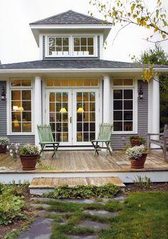 back porch. Addition