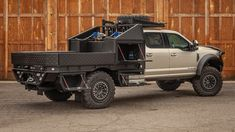HPI builds custom pickup truck flatbeds to the exact specifications of our customers. Custom Truck Flatbeds, Custom Flatbed, Flatbed Truck Beds, Truck Bed Camper, Truck Paint Jobs, Truck Bed Storage, Overland Truck, Lowered Trucks, Truck Mods