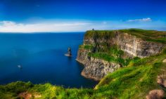 Cliffs of Moher with O'Brien's Tower by Cord Cardinal on 500px