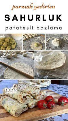 Sahurluk Patatesli Bazlama (Buzlukta) Tarifi nasıl yapılır? #sahur #ramazan #tarif #bazlama #hamurişi