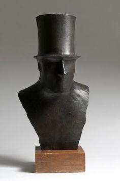 Man with Top Hat. -Elie Nadelman