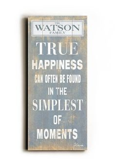 true happiness can often be found in the simplest of moments