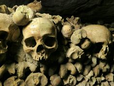 For a completely different view of Paris and a unique, some might even say macabre, experience in this City of Light, venture deep underground for a walk through Les Catacombes de Paris. See more at http://mikestravelguide.com/things-to-do-in-paris-visit-the-catacombs/