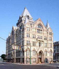Syracuse Savings Bank, 4th floor left corner was my office.