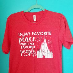 Favorite Place Favorite People Disney Family Shirts Disney Group Shirt Disney Shirts by OnceUponAMickeyTee on Etsy https://www.etsy.com/listing/285386109/favorite-place-favorite-people-disney