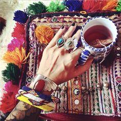 Acessórios Étnicos #ethnic #accessories #bracelet #rings