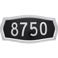 The Hillman Group 8.5 in. x 17 in. Heritage Address Plaque Kit 847331 at The Home Depot - Mobile