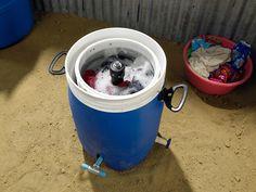 Foot-Powered Washing Machine //