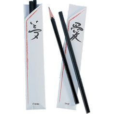 Chopstick pencils, cute favor