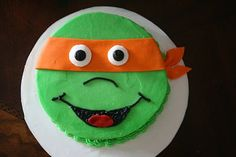 And Everything Sweet: Teenage Mutant Ninja Turtle Cake