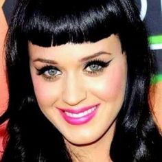 The Katy Perry Perfect Pin-Up Look   Katy is wearing false eyelashes that are medium in length and thickness. Use Ardell Runway Make-Up Artist Collection Lashes - Gisele Black