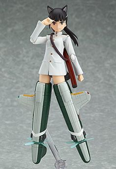 Max Factory Strike Witches: Mio Sakamoto (Movie Version) Figma Action Figure A Max Factory import Smooth yet poseable joints Includes multiple weapons
