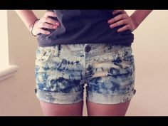 HTM: Shorts lavado de ácido - YouTube