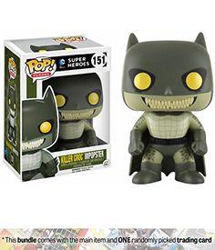Figura Funko POP DC Batman as Villains Killer Croc impopster - tienda funko pop barcelona · € Batman Comic Books, Comic Book Heroes, Hulk, Funko Pop List, Funko Pop Batman, Batman And Batgirl, Lego Batman, Pop Figurine, Killer Croc