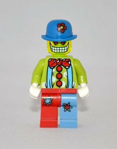 Zombie Circus Clown LEGO Minifigure- Version 6 by LEGO. $6.99. Zombie Circus Clown LEGO Minifigure- Brand new 100% Lego Parts.  Version 6 in the custom series.