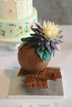 Mark Tilling's Chocolate Showpiece