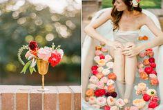 garden rose bath | Ciara Richardson Photography » Photography for the Kindred Spirit | #gardenrose