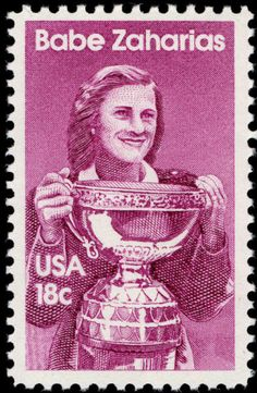 June 26, 1914, Babe Zaharias, the American athlete known for her achievements in golf, basketball and track and field, was born.