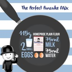Happy ‪#‎PancakeDay‬ everyone. Here's everything you need to make the perfect pancake... We'll leave the filling up to you!