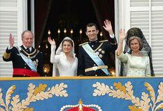 Prince Felipe and Princess Letizia Wedding Day
