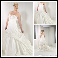 Sexy Ivory Plus Size Lace Ball Gown Wedding Ball Gown Wedding Dresses | Buy Wholesale On Line Direct from China