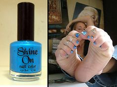 Electric Blue for an Attractive Pedicure - 1 Bottle Blue Pedicure, Pedicure Nails, Pedicures, Feet Nails, Foot Toe, Electric Blue, You Nailed It, Nail Colors, Nail Designs