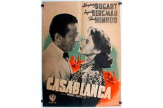 'Casablanca' movie poster