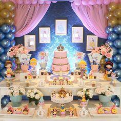 decoração tema princesas disney