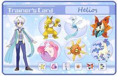 Helios trainer card