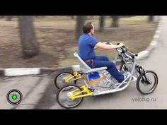 Cyclekart (Monocar) chassis complete video of details Velo Tricycle, Adult Tricycle, Best Atv, Moto 125cc, Velo Cargo, Diy Go Kart, Atv Riding, Bike Trailer, Pedal Cars
